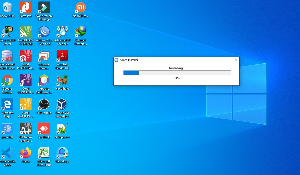Cara Install Aplikasi Zoom di Laptop Windows 10 - Virtualiable