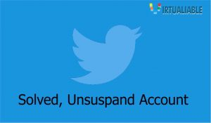 unsuspand account twitter