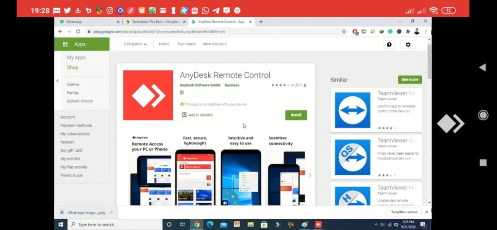 Anydesk android