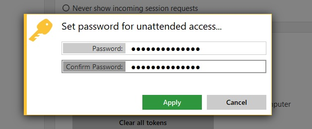anydesk password