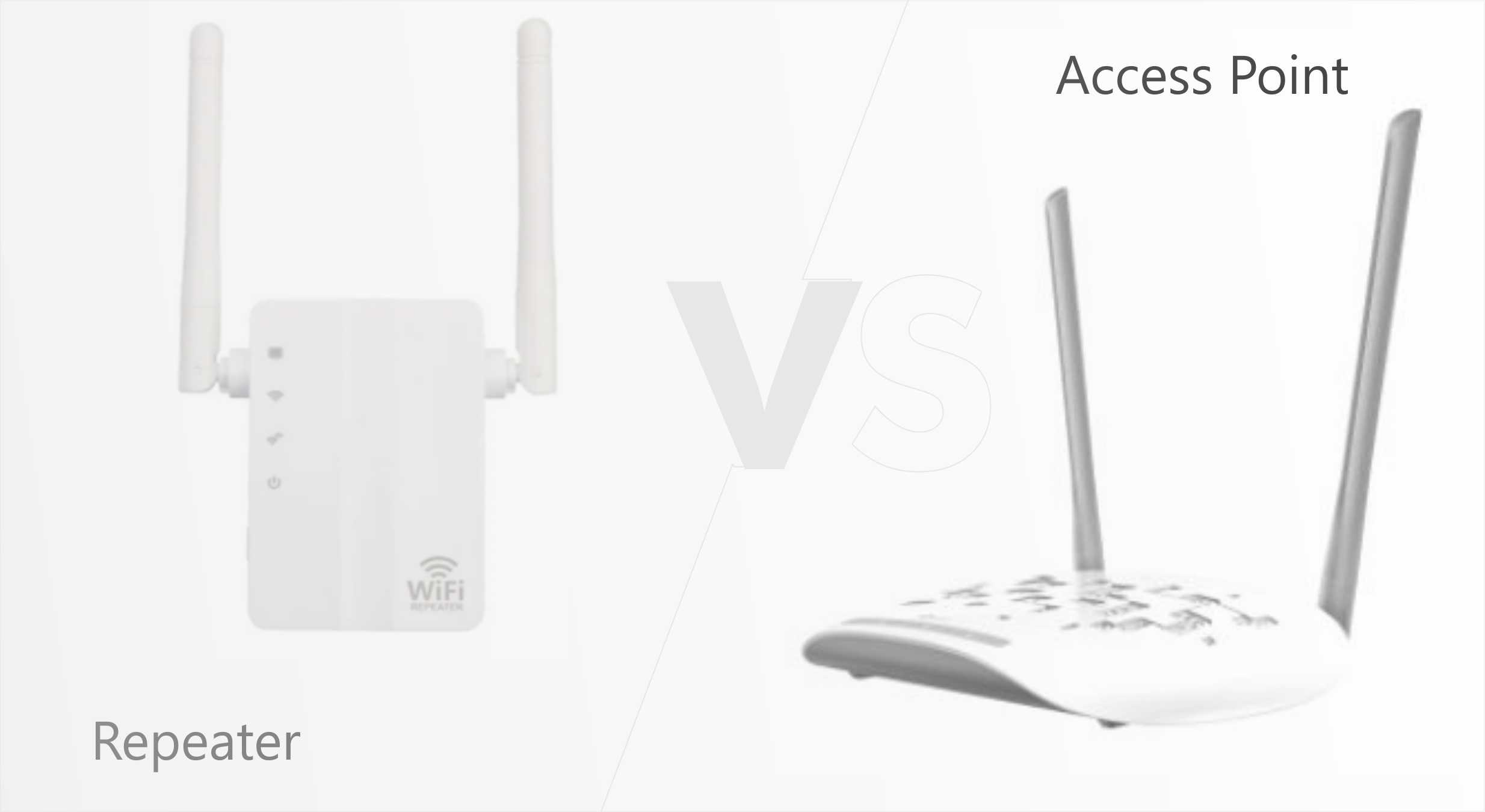 access point vs repeater