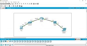 jaringan komputer cisco paket tracert build