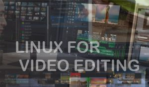 software video editing linux